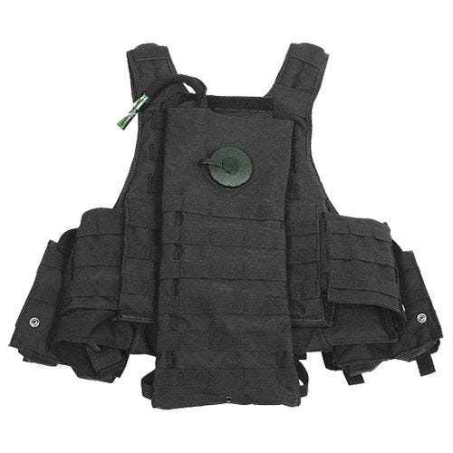 MFH Tactical MOLLE Vest Ranger Black