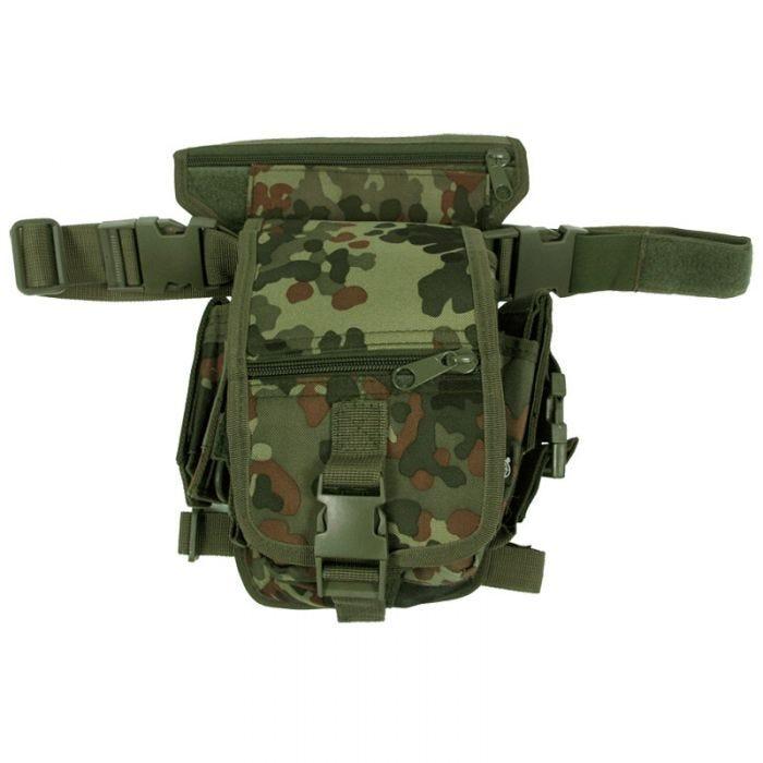 MFH Combat Waist Bag Flecktarn