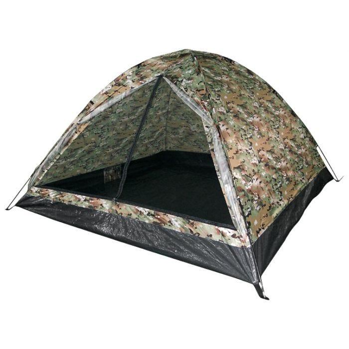 Mil-Tec Iglu Standard Three Man Tent Multitarn