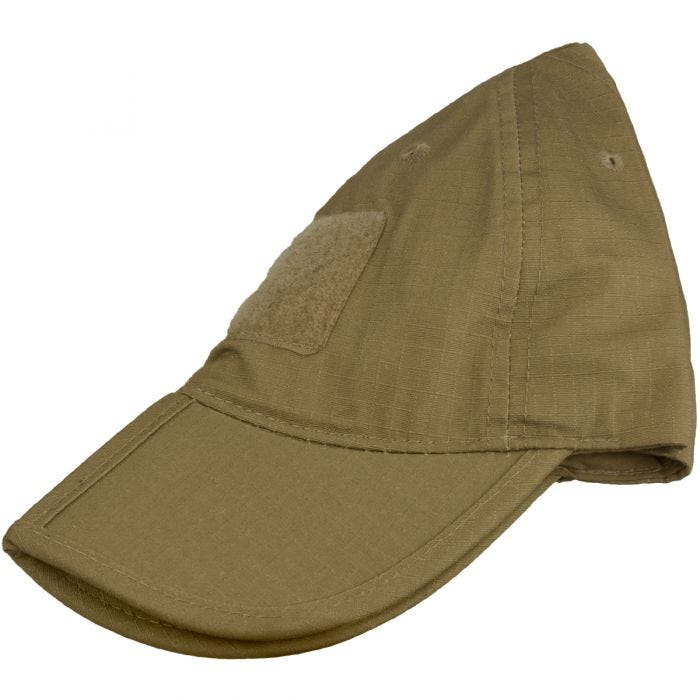 Mil-Tec Foldable Baseball Cap Dark Coyote