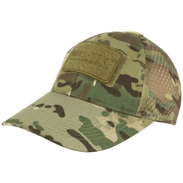 Mil-Tec Net Baseball Cap Multitarn