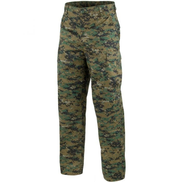 Mil-Tec BDU Combat Trousers Digital Woodland