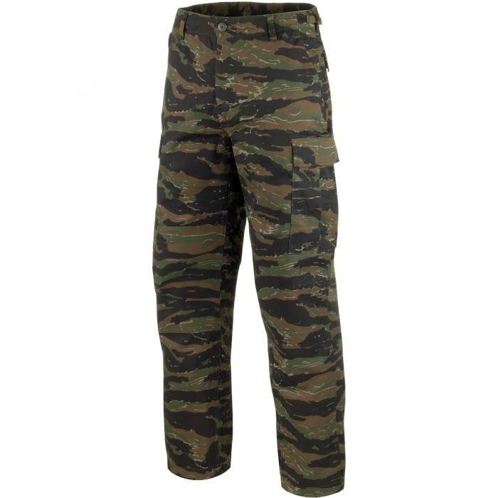 Mil-Tec BDU Combat Trousers Tiger Stripe