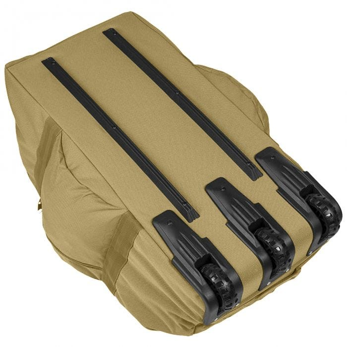 Mil-Tec Combat Carrying Duffel with Rolls Coyote