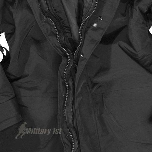 Mil-Tec ECWCS Jacket with Fleece Black