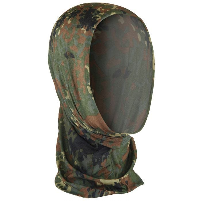 Mil-Tec Multifunction Headgear Flecktarn