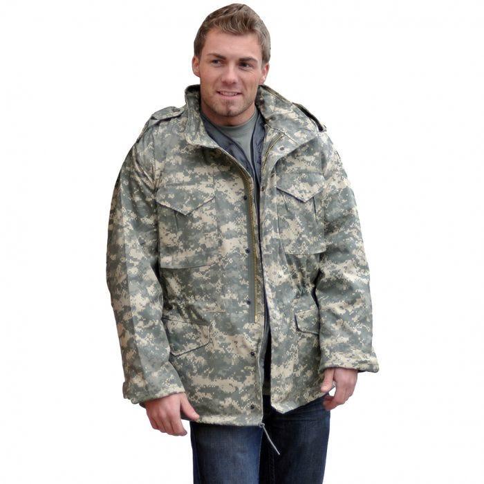 Mil-Tec Classic US M65 Jacket ACU Digital