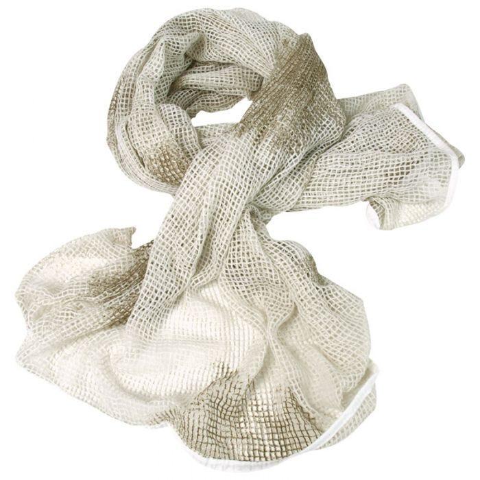 Mil-Tec Net Scarf White