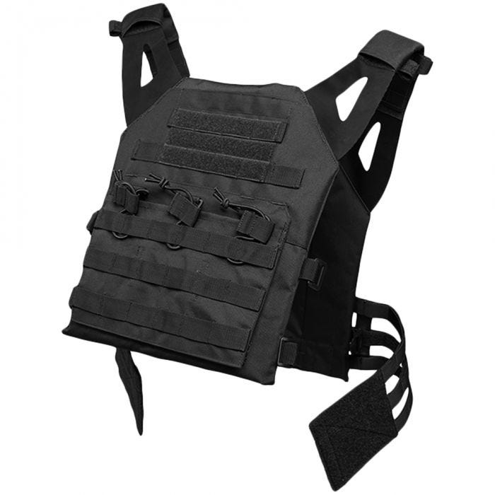 Mil-Tec Plate Carrier Vest Gen II Black