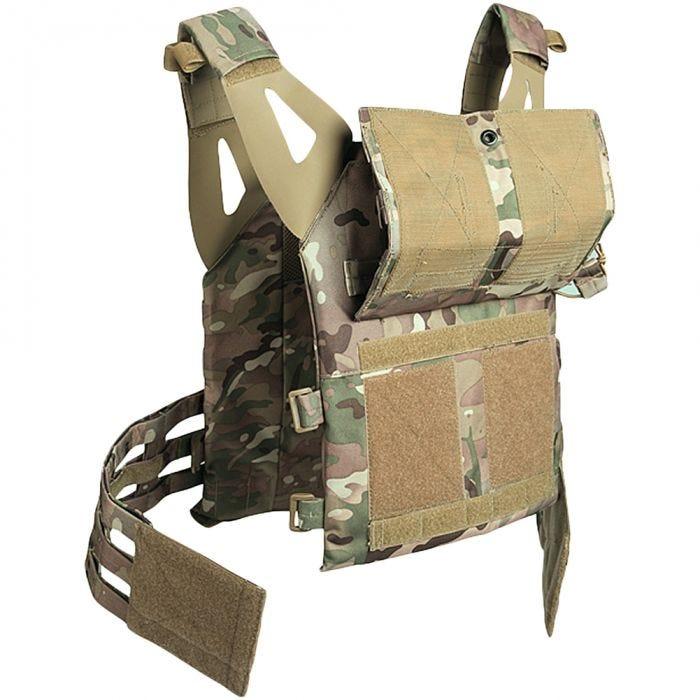 Mil-Tec Plate Carrier Vest Gen II Multitarn