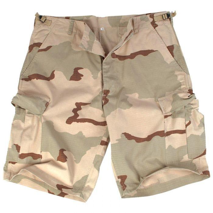 US Prewashed Ripstop Bermuda Shorts 3-Colour Desert