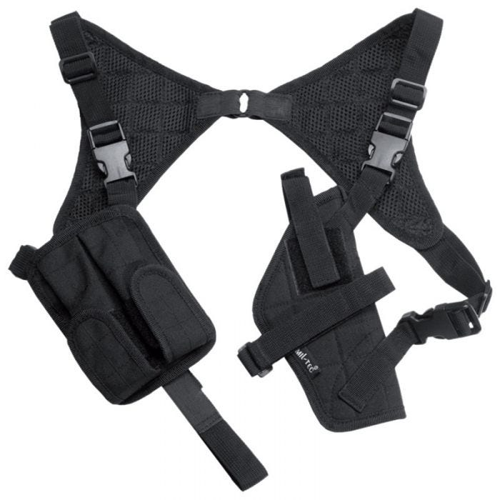 Mil-Tec Shoulder Holster Cordura Black