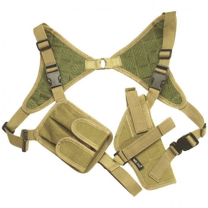 Mil-Tec Shoulder Holster Cordura Coyote