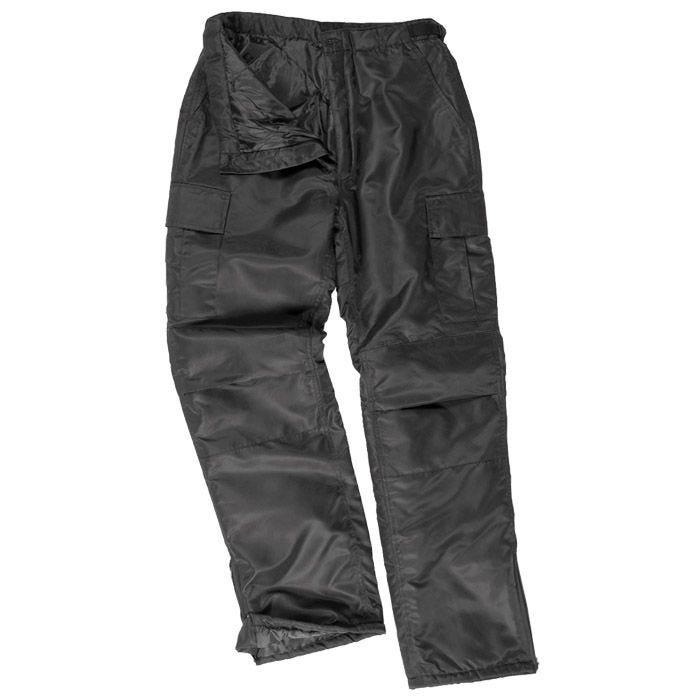 Mil-Tec US MA1 Thermal Trousers Black