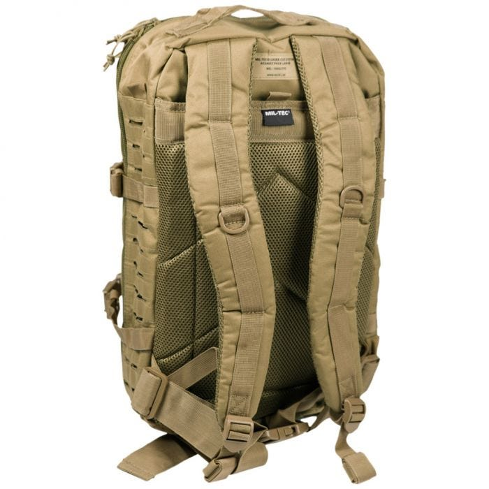 Mil-Tec US Assault Pack Large Laser Cut Coyote