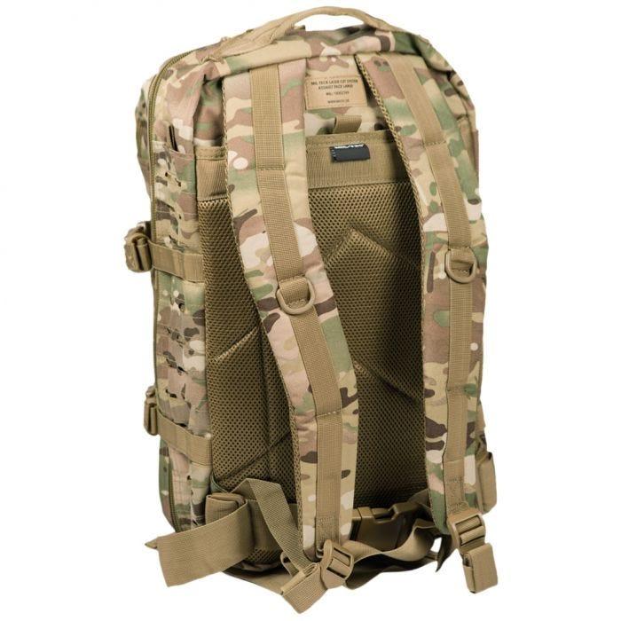 Mil-Tec US Assault Pack Large Laser Cut Multitarn