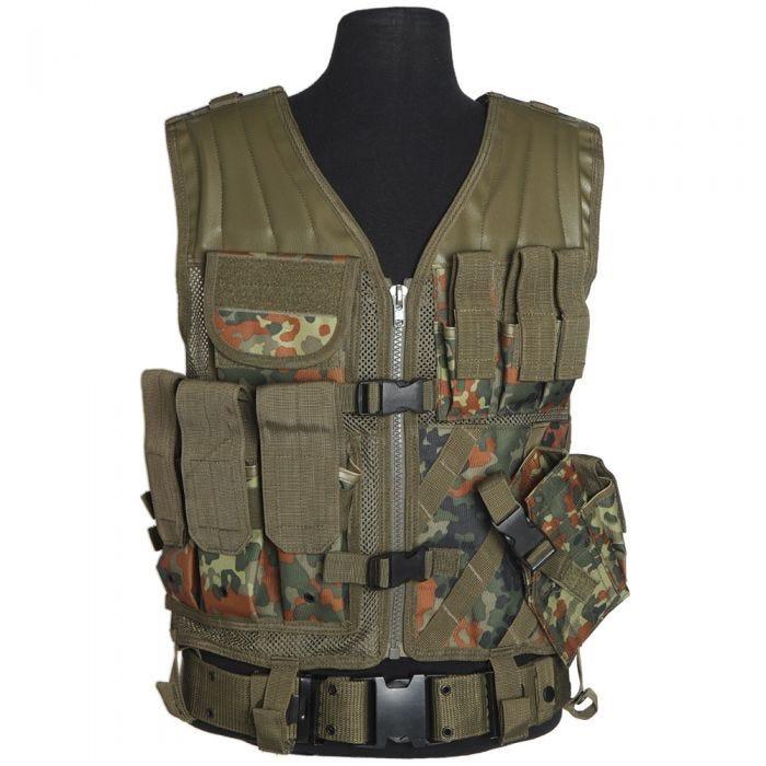 Mil-Tec USMC Tactical Vest Flecktarn