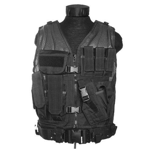 Mil-Tec USMC Tactical Vest Black