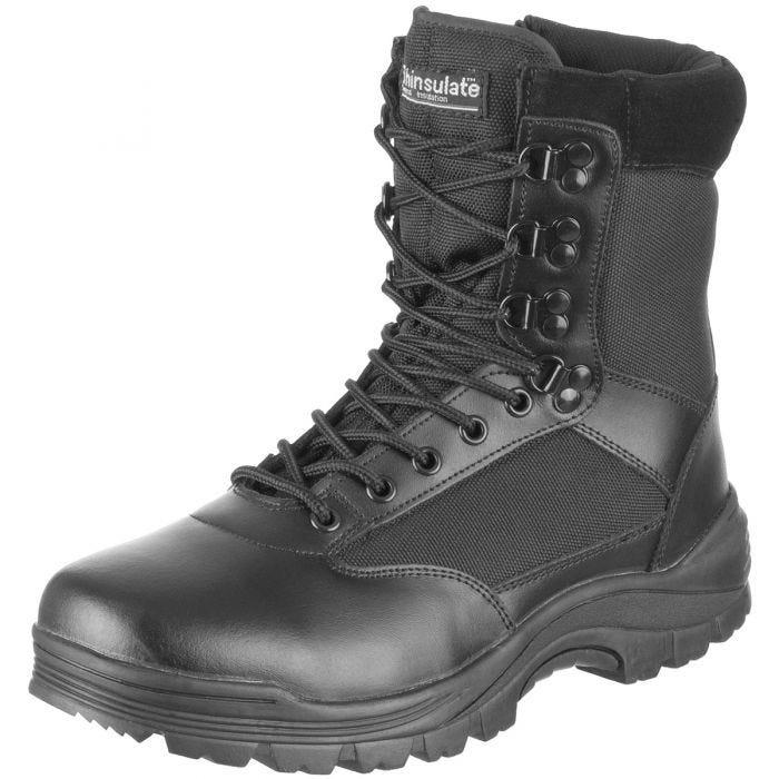 b9d5f2da19e Mil-Tec Tactical Side Zip Boots Black