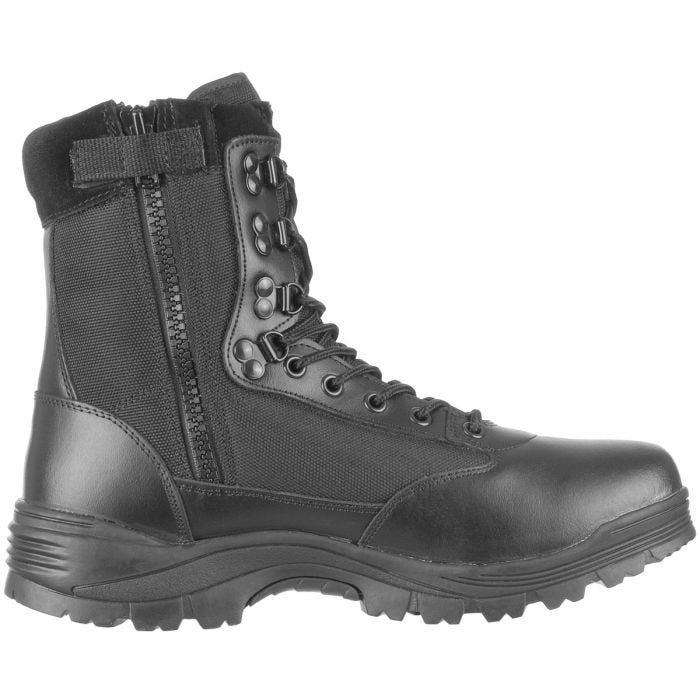Mil-Tec Tactical Side Zip Boots Black