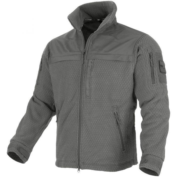 Mil-Tec Elite Fleece Hextac Jacket Urban Grey