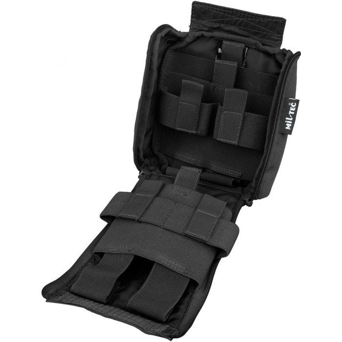 Mil-Tec IFAK Pouch 25-Pieces Laser Cut Black