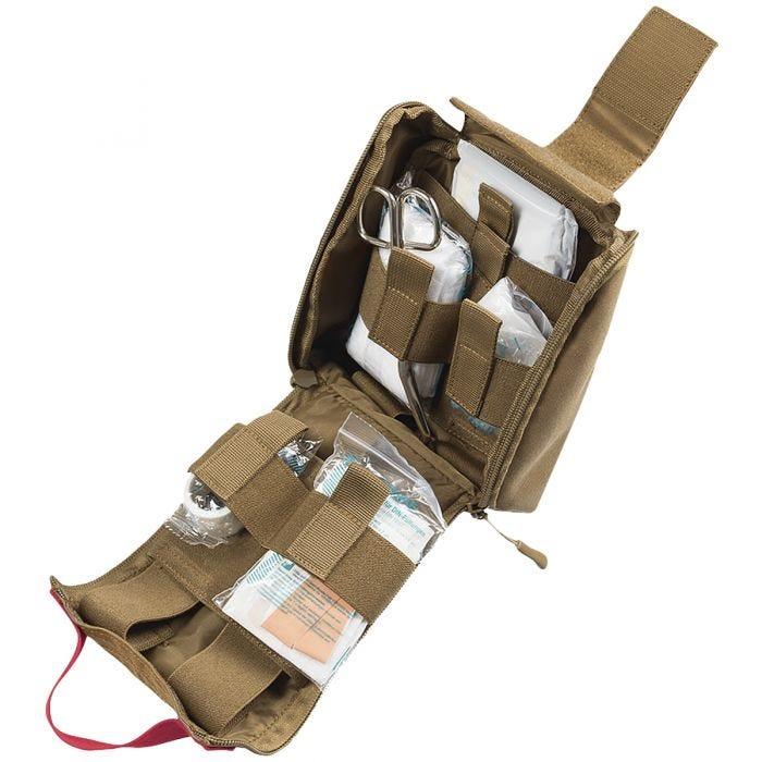 Mil-Tec IFAK Pouch 25-Pieces Laser Cut Dark Coyote