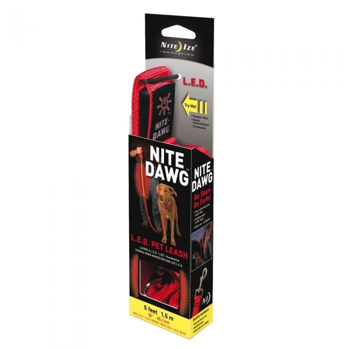 Nite Ize Nite Dawg Red LED Pet Leash