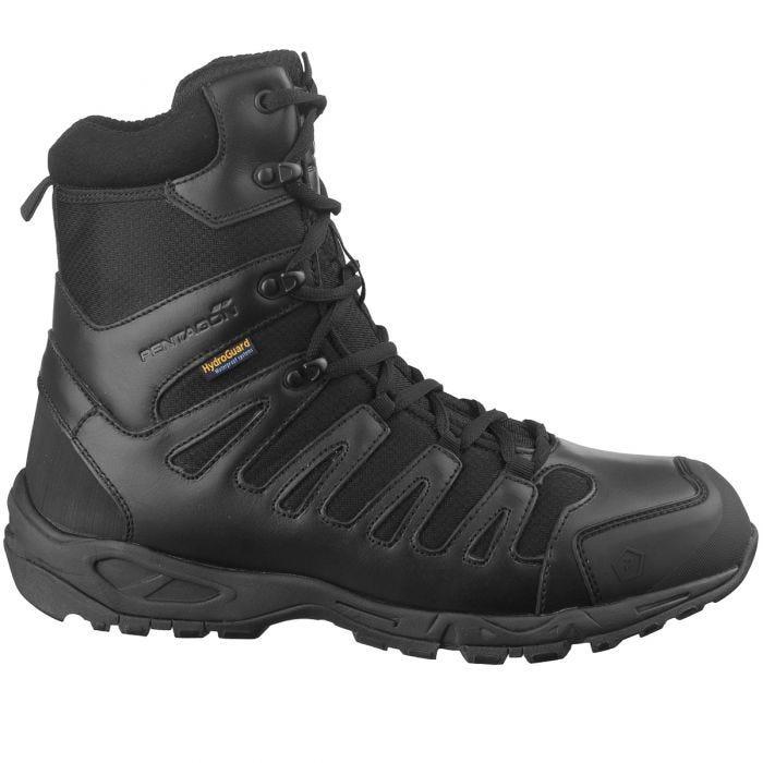 """Pentagon Achilles XTR 8"""" Tactical Boots Black"""