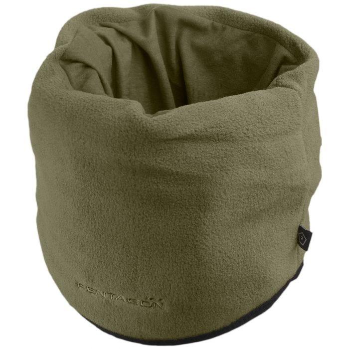 Pentagon Fleece Neck Gaiter Olive Green