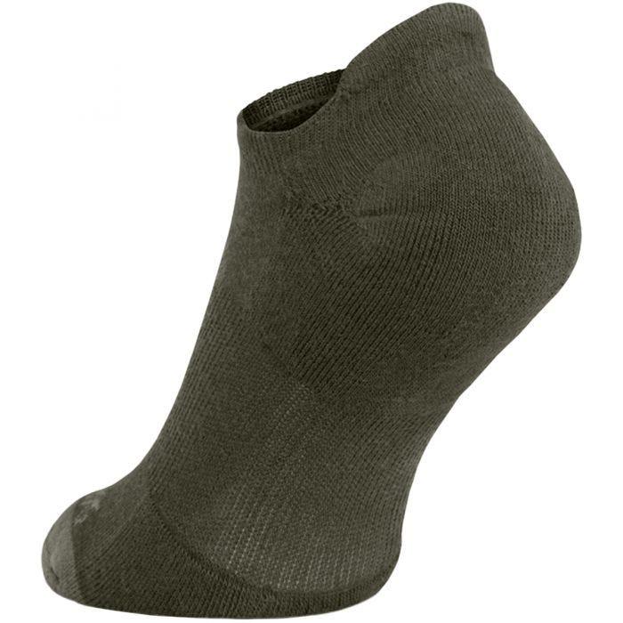 Pentagon Invisible Socks Olive