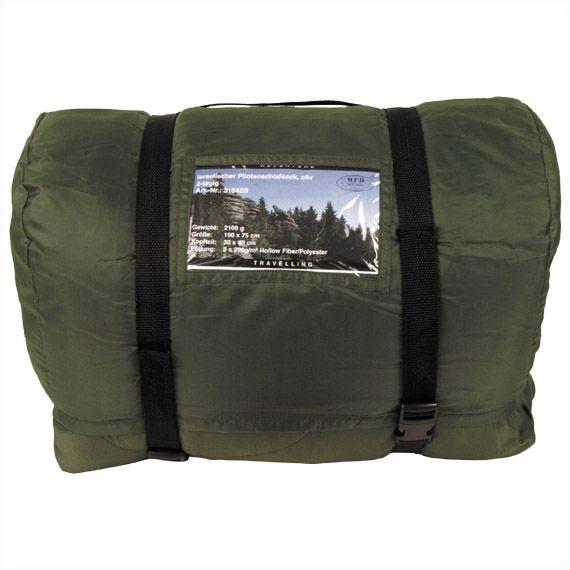 MFH Israeli Pilot's Sleeping Bag Olive