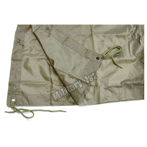 Waterproof Poncho Ripstop Olive