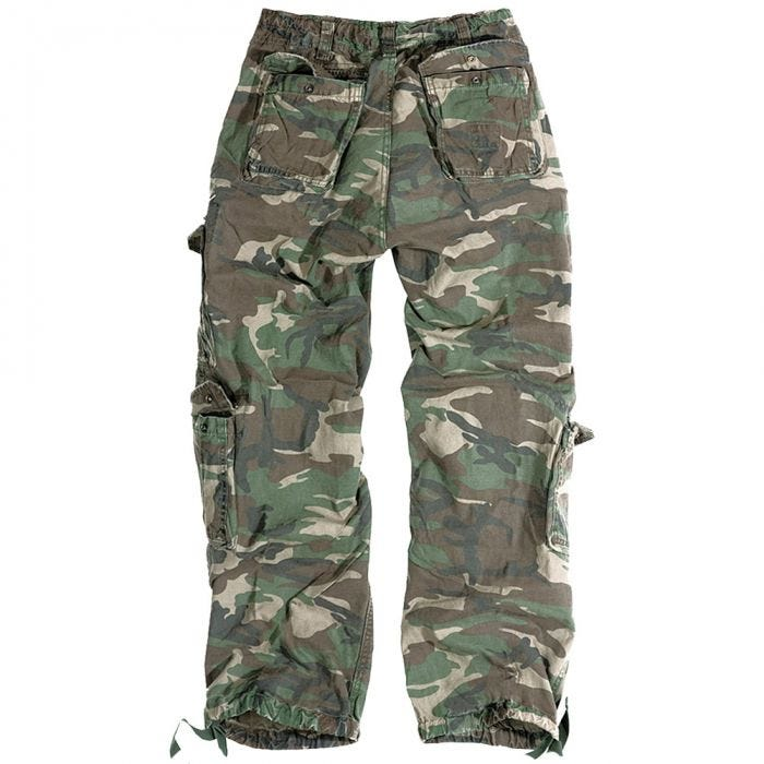 Surplus Airborne Vintage Trousers Woodland