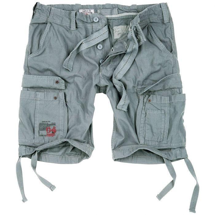 Surplus Airborne Vintage Shorts Grey