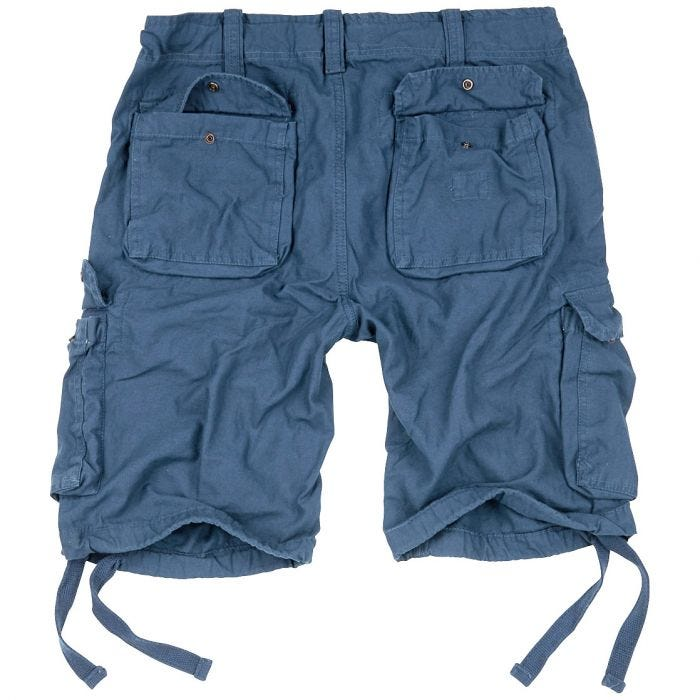 Surplus Airborne Vintage Shorts Navy
