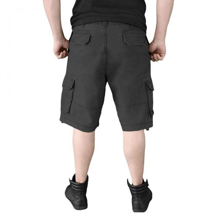 Surplus Vintage Shorts Washed Black