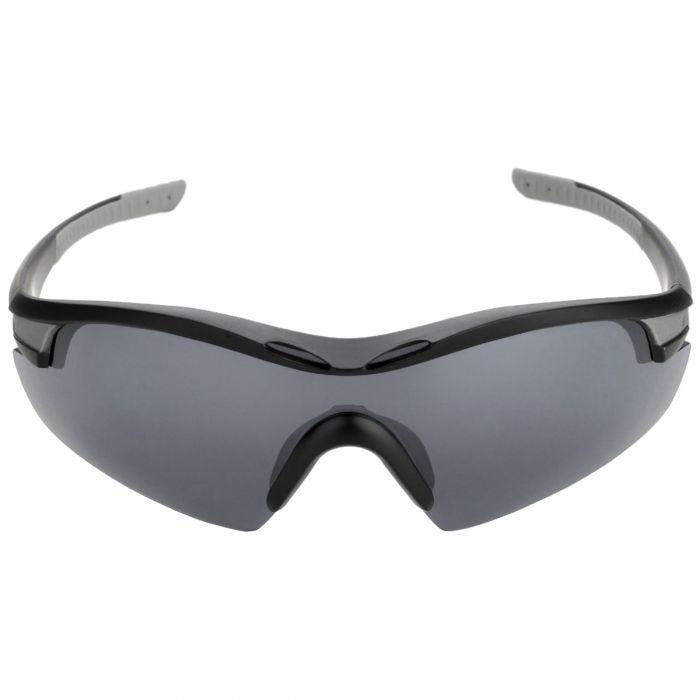 Swiss Eye Sunglasses Novena - 3 Lenses / Black Matt Grey Frame
