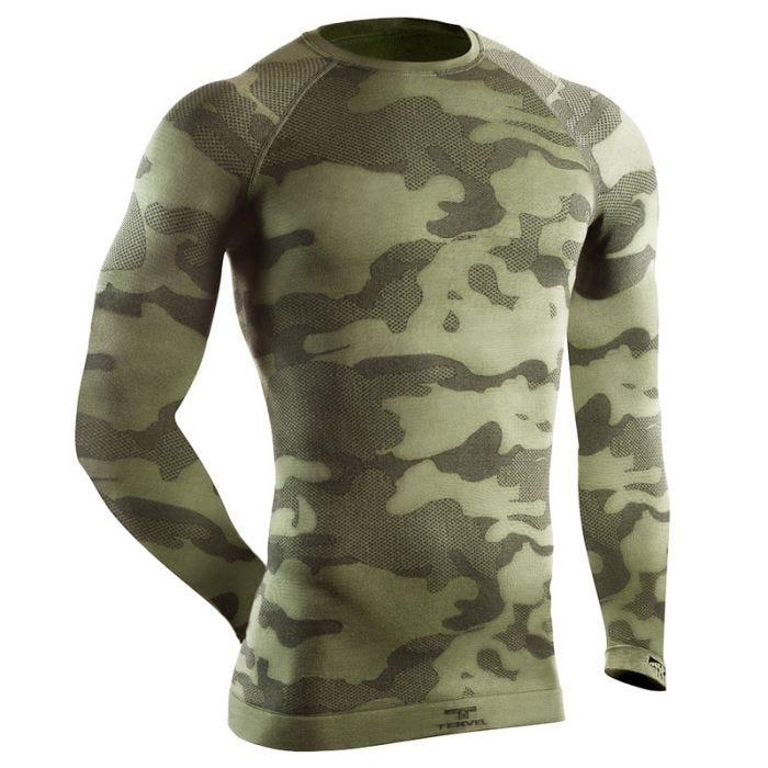 Tervel Optiline Tactical Shirt Long Sleeve Military / Grey
