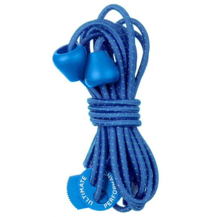 Ultimate Performance Reflective Elastic Laces Royal Blue