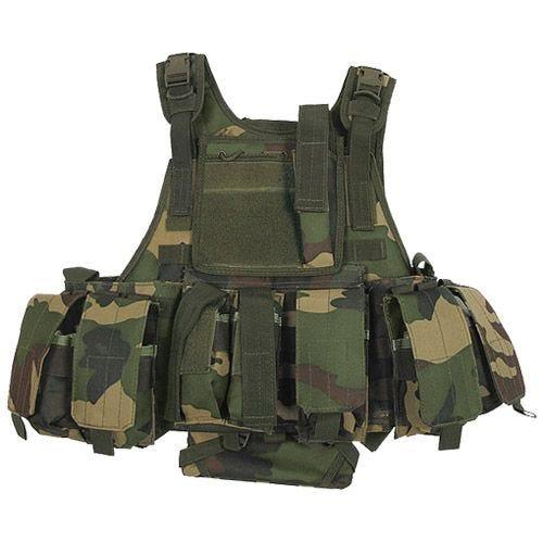 MFH Tactical MOLLE Vest Ranger Woodland