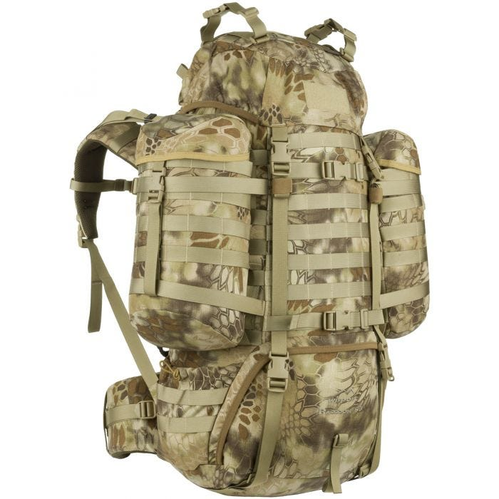 Wisport Raccoon 85L Rucksack Kryptek Highlander