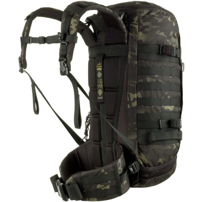 Wisport ZipperFox 40L Rucksack MultiCam Black