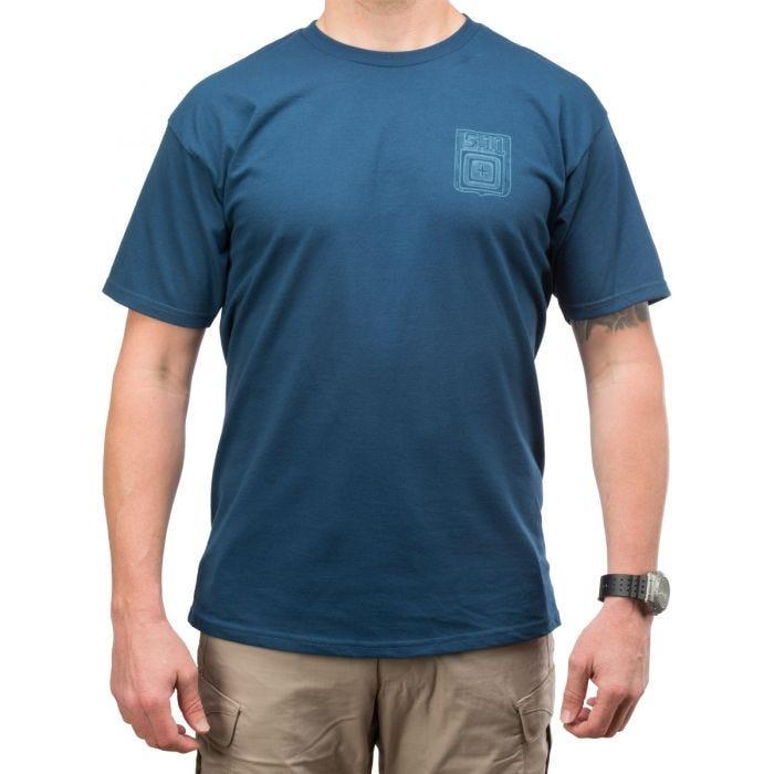 5.11 Proud Bird Logo T-Shirt Harbor Blue