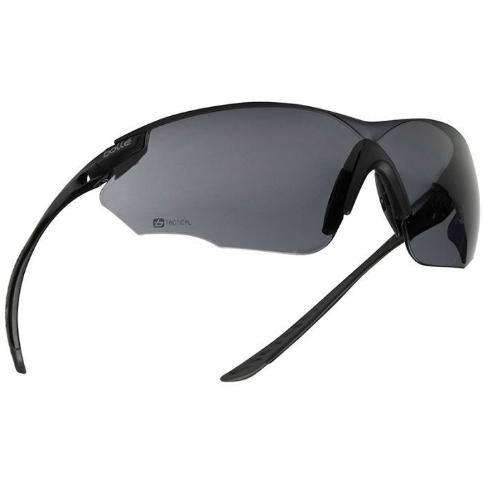 Bolle Combat Ballistic Spectacles - Clear + Smoke + ESP Lens / Black Frame