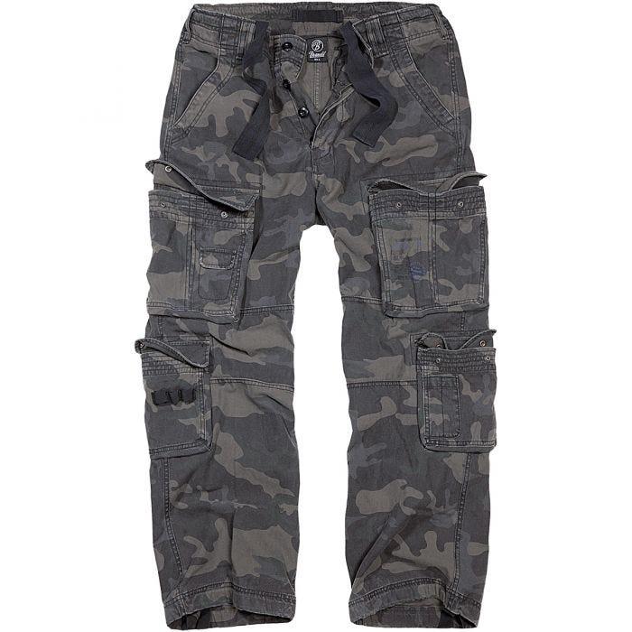 Brandit Pure Vintage Trousers Dark Camo