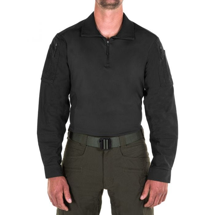 First Tactical Men's Defender Shirt Black