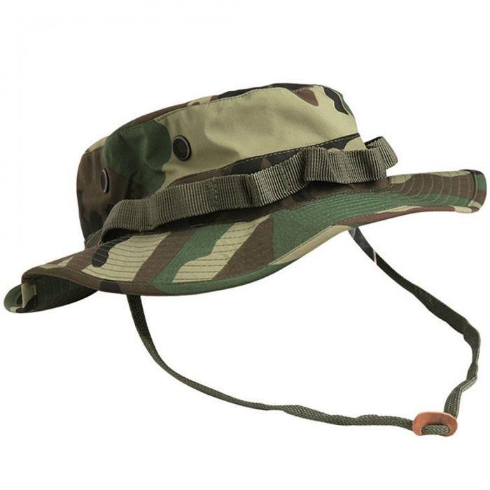 Teesar US GI Trilaminate Boonie Hat Woodland
