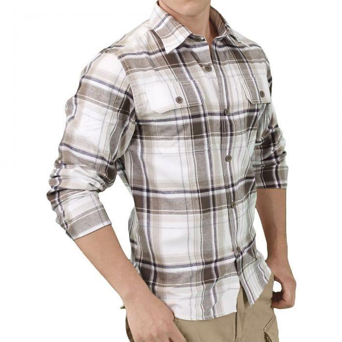 Surplus Woodcutter Shirt Brown