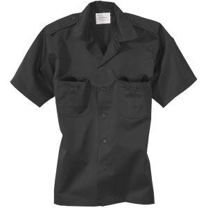 Surplus US Shirt Short Sleeve Black
